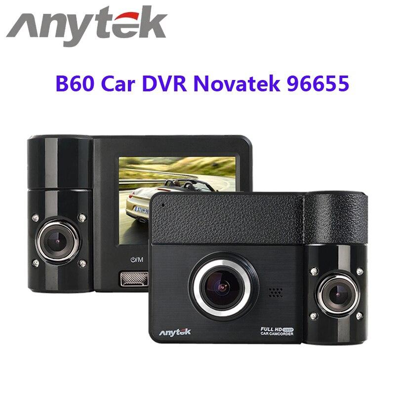 Anytek B60 Car DVR 170 Degree Wide Angle 1080P 3 0MP Dash Camera 270 Degree Rotating