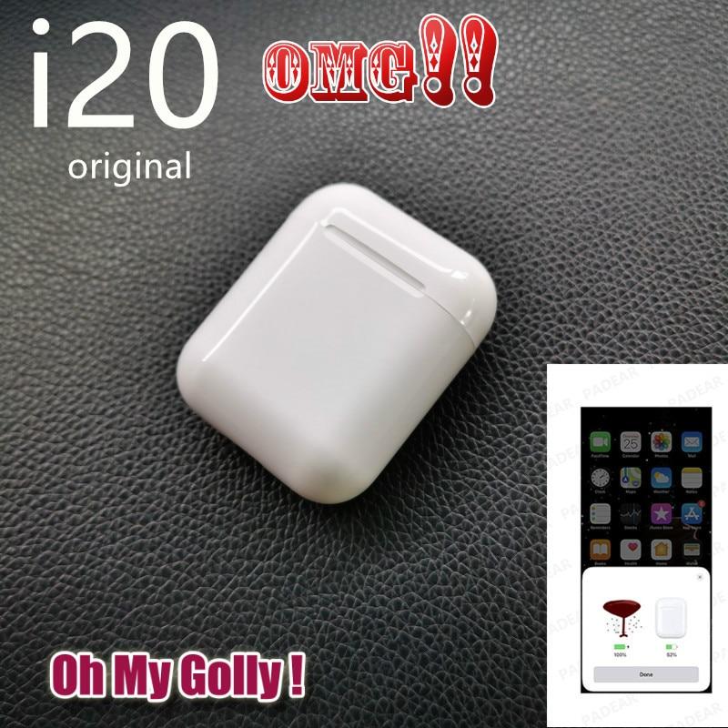 Oh My Golly i20 TWS Bluetooth ear Earbuds Wireless PK w1