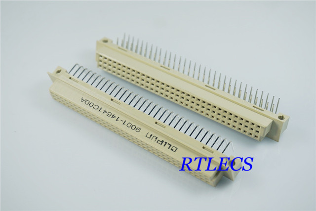 100pcs din 41612 connector 2 rows 64 positions receptacle female 100pcs din 41612 connector 2 rows 64 positions receptacle female socket right angle through hole pcb publicscrutiny Image collections