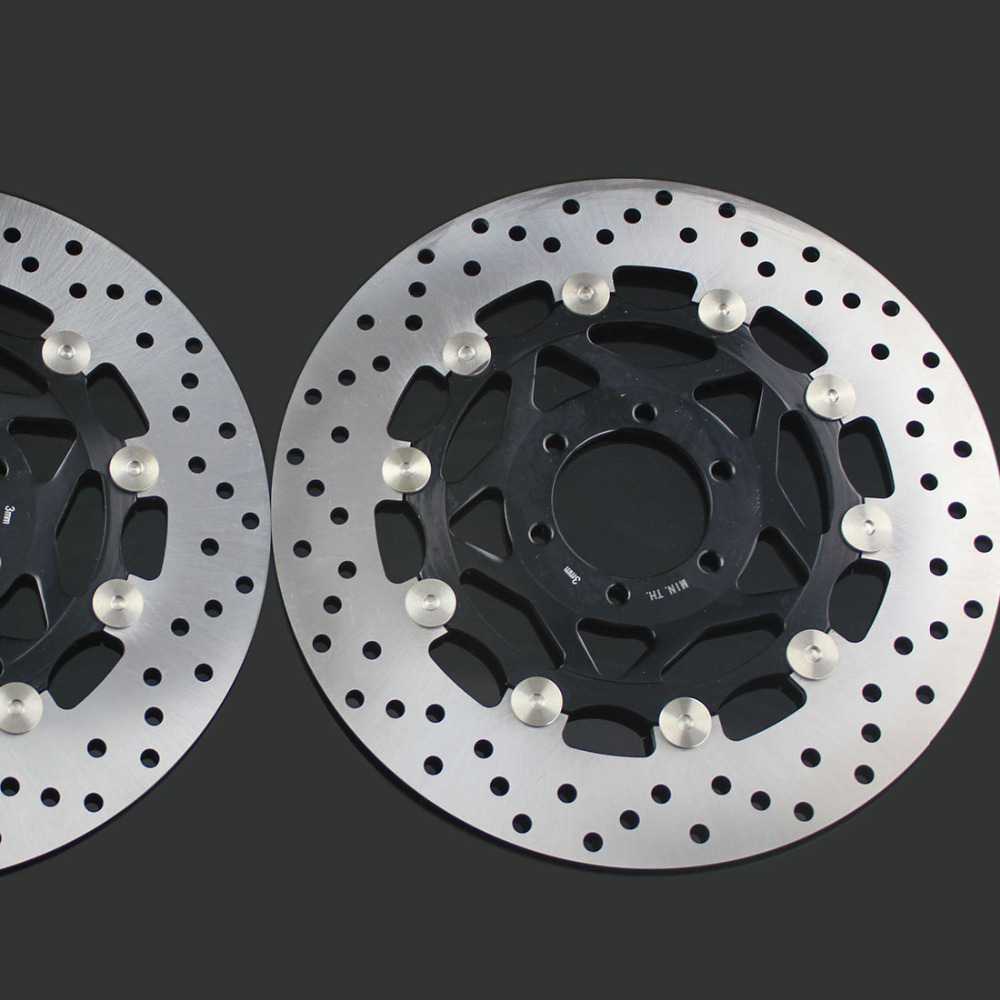 2 pieces motorcycle Front Disc Brake Rotor Scooter Front Rear Disc Brake Rotor for YAMAHA XJR400 rear brake disc rotor for yamaha fz400 srx400 xjr400 fz600 fzr600 fzs600 srx600 xj600 yzf600 yzf750r tdm850 tdm900 yzf1000