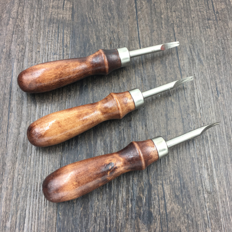 Leather Carving Tool DIY Leather Tool Leather Chamfering Knife Trimming Knife Edger Craft Edge Cutter
