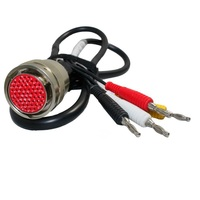 Clearance Sales 4pin to 38pin cable for MB Star C3 diagnosis multiplexer for mercedes compact 3 Red Interface
