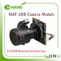 """AHD Camera 960P AHD-M HD 2.8-12mm Motorized Zoom & Auto Vari-Focal Lens 1/3""""  Panasonic Sensor AHD CCTV Camera module board"""