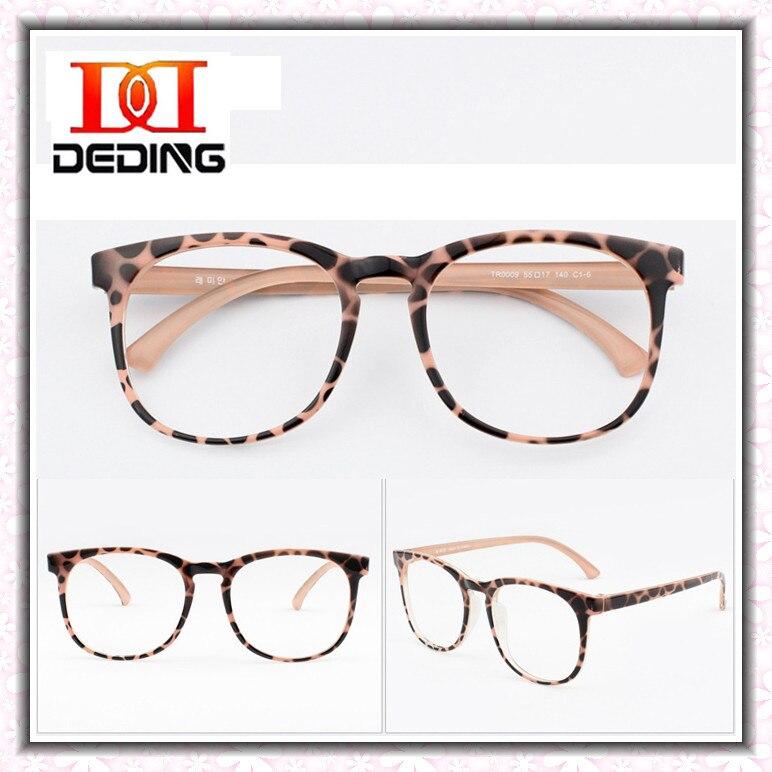 Large Frame Computer Glasses : Ultra light TR90 Women Glasses Frame Man Computer ...