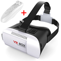 VR BOX VR Glasses Google cardboard VR BOX 2.0 Version Virtual Reality 3D Glasses + Bluetooth Wireless Remote