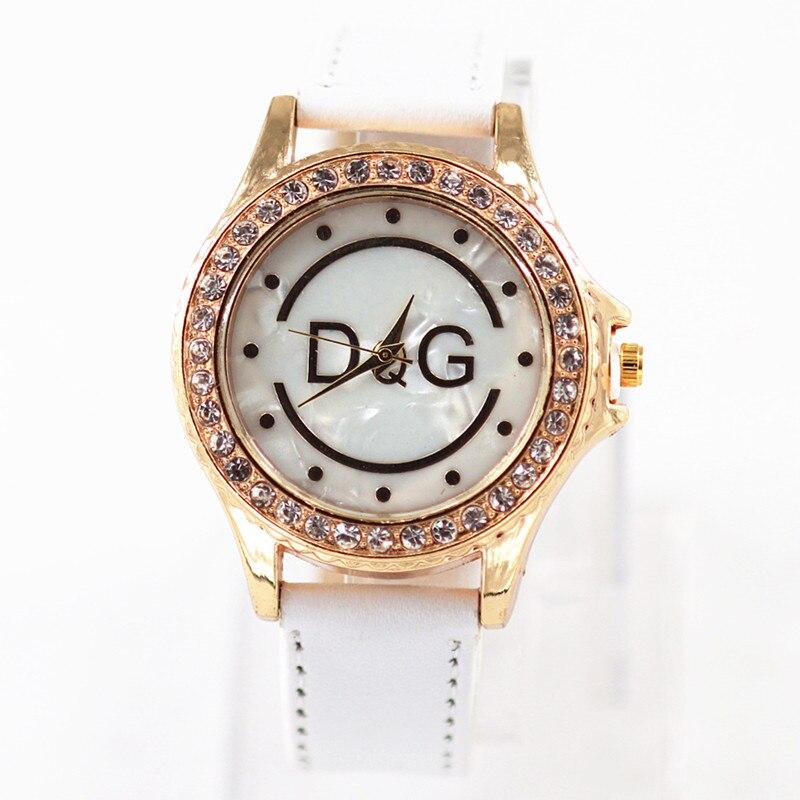 DQG Rhinestones Women's watches the top luxury famous brand wristwatch fashion leisure clock relogio feminino women quartz watch цена