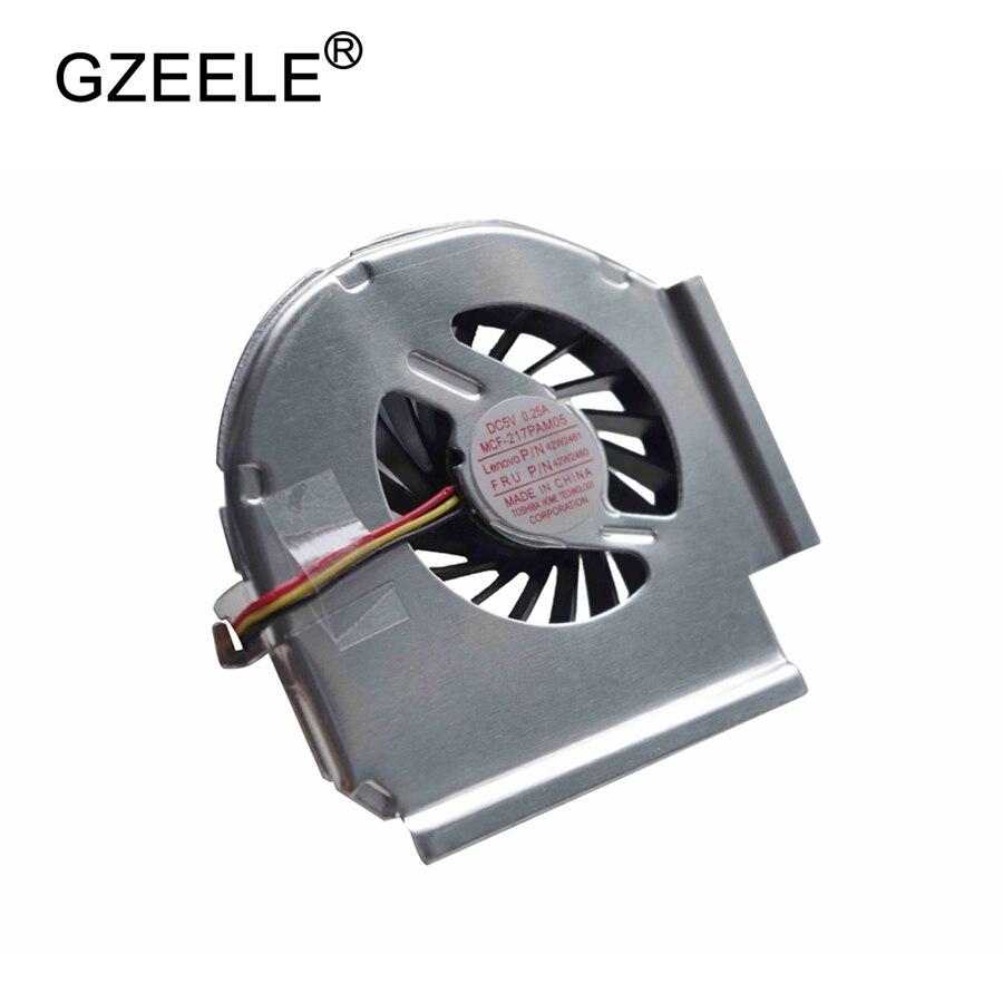 GZEELE new cpu cooling fan for IBM LENOVO for thinkpad T61 T61P 3-Pins CPU Cooling Fan 42W2460 42W2461 42W2462 42W2463 42W2823