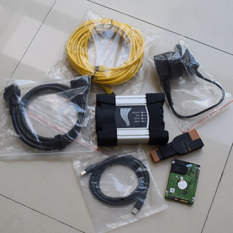 For Bmw Icom A2 Next 03/2020 For Bmw Ista Hdd 500gb ( ISTA-D: 4.22 ISTA-P:3.67)  Software Expert Mode Windows7  For 95% Laptops