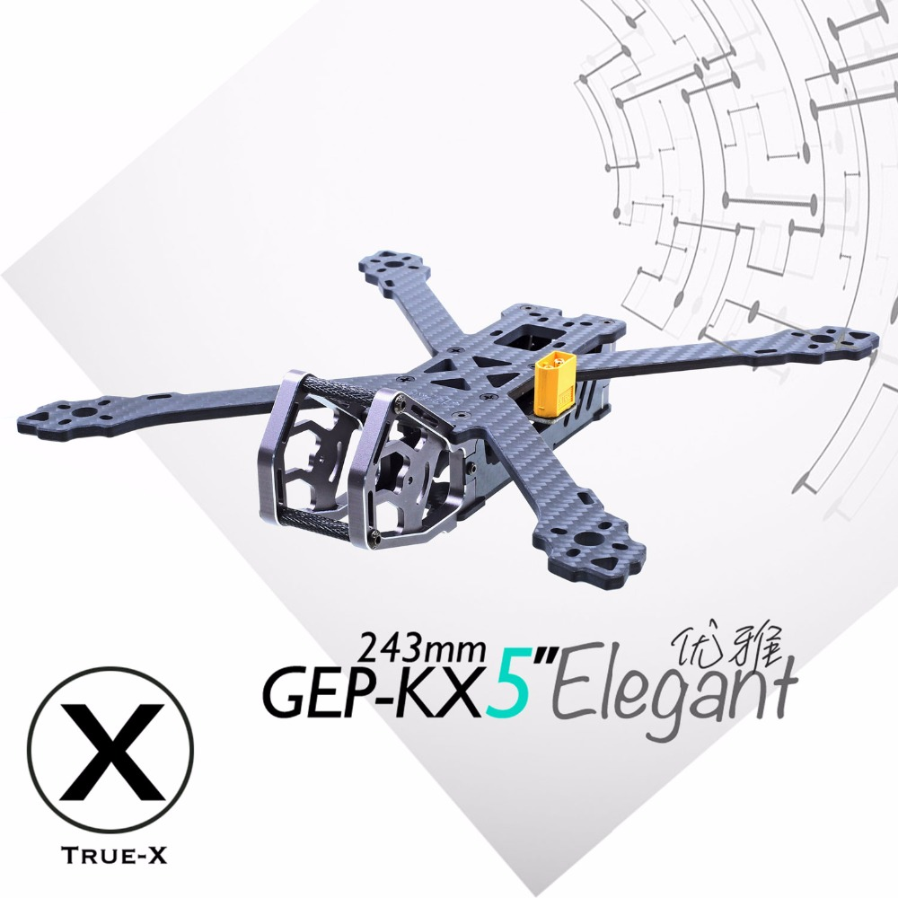 GEPRC GEP KX5 Elegant FPV Rcing quadcopter 243MM Wheelbase famers TRUE X freestyle for racing fpv