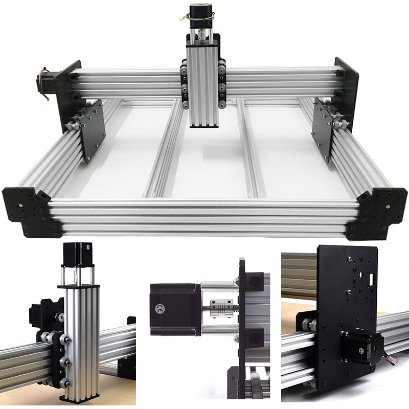 Free Shipping Workbee CNC Router Kit 4Axis Woodworking Metal Engraving Milling Machine Kit with 175 oz