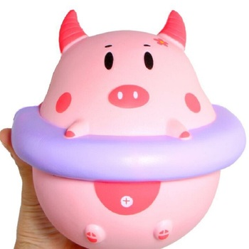 16CM Simulation Cartoon Swimming Pig Baby Toys Kids Adults Slime Squeeze Plaything Squishy Slow Rising Jumbo Cute Toys baby toys