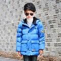 Children Down Jacket Coat Baby Winter Thermal Overalls Warm Clothes Winterjas Jongen Dimond Hoodie Goose Baby Jacket 70Z020