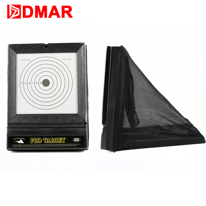DMAR Slingshot Catapult Ammo Box Toy Bullets Collectors Shooting Target Papers for Gift Recycle Practice for Children Adults