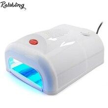 2017 Rolabling 36w UV lamp Light Therapy Machine UV light Therapy Lamp With Fan Light Therapy