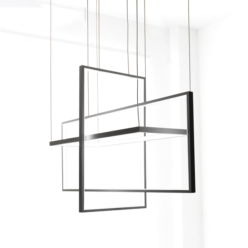 Circle Pendant Lights for Living room Bedroom office and kitchen hanging lights lustre de plafond moderne
