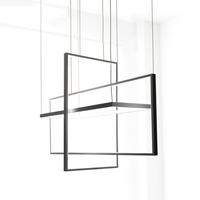 Circle   Pendant     Lights   for Living room Bedroom office and kitchen hanging   lights   lustre de plafond moderne Black   Pendant   Lamp LED
