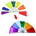 Kingmagic Breakaway Fan Magic Tricks multicolor Broken Fan Recovery & restore magic prop/Stage/toys For Kid Free shipping