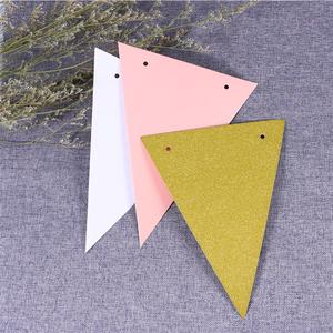 Image 5 - 3 Meters Babys Birthday Banners Multicolor Glitter Pennant Flags Garland Streamer Baby Room Nursery Hanging Decor