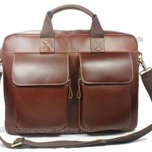 "Luxury Italian Genuine Leather briefcase men leather laptop case portfolio men briefcase business bag 15""laptop bag male attache"