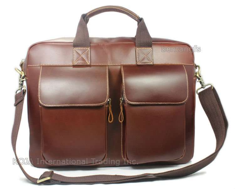 "Luxury Italian Genuine Leather briefcase men leather laptop case portfolio men briefcase business bag 15""laptop bag male attache"