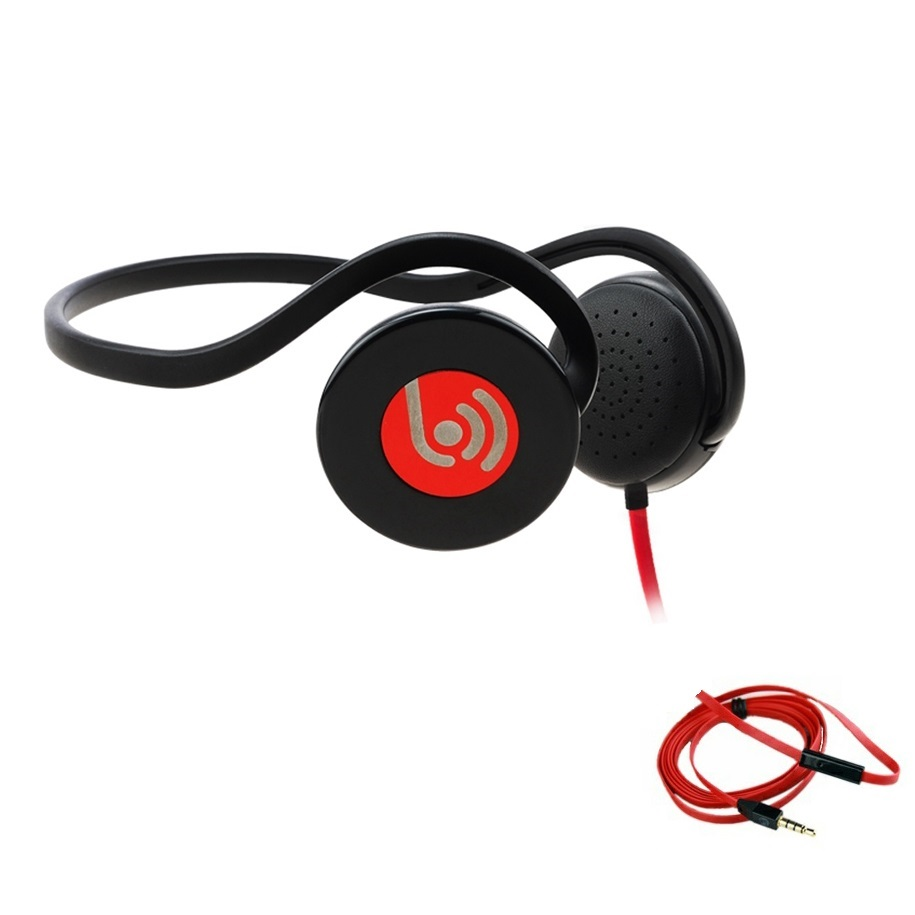 GDLYL Sport Headset Neckband Portable Running Headphone with Hook Mic HD Bass Stereo Music 3.5mm for Smart Phones Music Player wireless bluetooth headset hbs500 sport portable 3d stereo headphone v4 1 bluetooth headphone neckband style for all phones