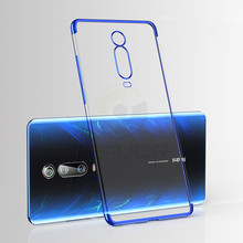 Keajor Case For Xiaomi Mi 9T Pro Luxury Soft Silicone Protective Back Cover Clear Plating Phone Coque