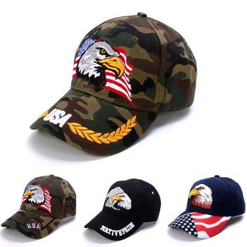 USA Flag Eagle Embroidery Baseball Cap Snapback Caps Casquette Hats Casual Gorras Dad For Men Women