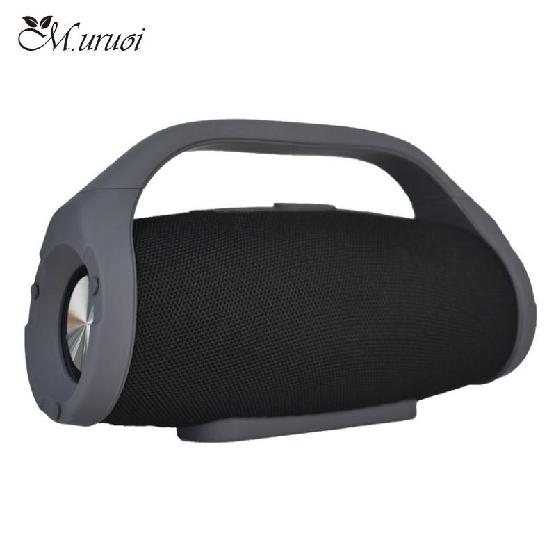 M.uruoi Bluetooth Speaker Portabe Soundbar Bluetooth Audio Receiver Wireless Mini Speakers Handsfree For Music MP3 Player Phone