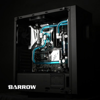 Barrow Water Cooling Kits OD14mm Hard Tube 240mm Radiator CPU Block Pump Reservoir Use For AM3