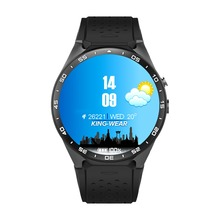 2017 EgoCSM KW88 MTK6580 Android 5.1 OS Smart Watch Phone 400*400 Screen quad core smartwatch Support SIM pedometer heart rate