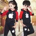 Rushed Promotion Coat Boy's Suit Autumn Kids Sport Wear Garment Fashion Minnie Baby Girls Clothing Set School Tracksuit GH188