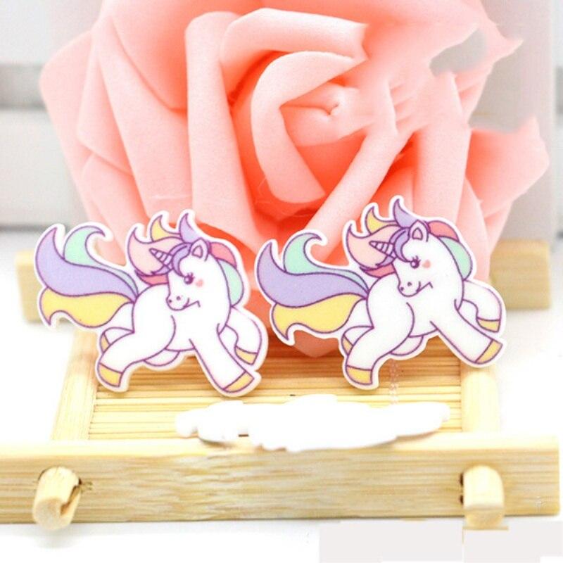 Hot Sale 40pcs/lot 34*29MM Cartoon Flatback Resin Buttons FlatBack Scrapbooking Charming DIY Craft Jewelry Decoration LS466