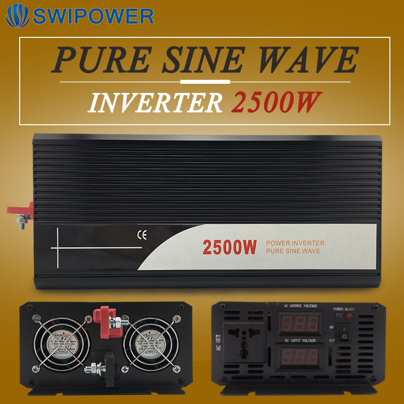frequency inverter 2500W pure sine wave with low price pure sine wave inverter 2500w