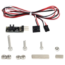Mk2.5/Mk3 To Mk2.5S/Mk3S Latest 3D Ir Filament Sensor Upgrade Detect Stuck Filament Sensor For Prusa I3 Mk3 3D Printer Parts prusa i3 mk3 3d printer filament sensor detect stuck filament and offer the user an option to clean the nozzle for prusa i3 mk3