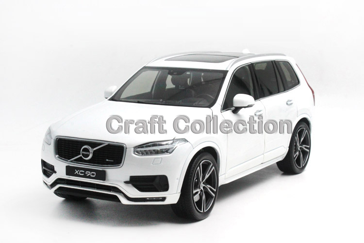 * White 1/18 GTA Volvo XC90 Sport 2015 SUV Die-Cast Model Car Luxury Miniature Toys Scale Models Alloy Gifts