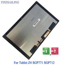 Fix2sailing для Sony Xperia Tablet Z4 sgp771 sgp712 ЖК-дисплей Дисплей Сенсорный экран Замена панели цифрового преобразователя в сборе 10,1»
