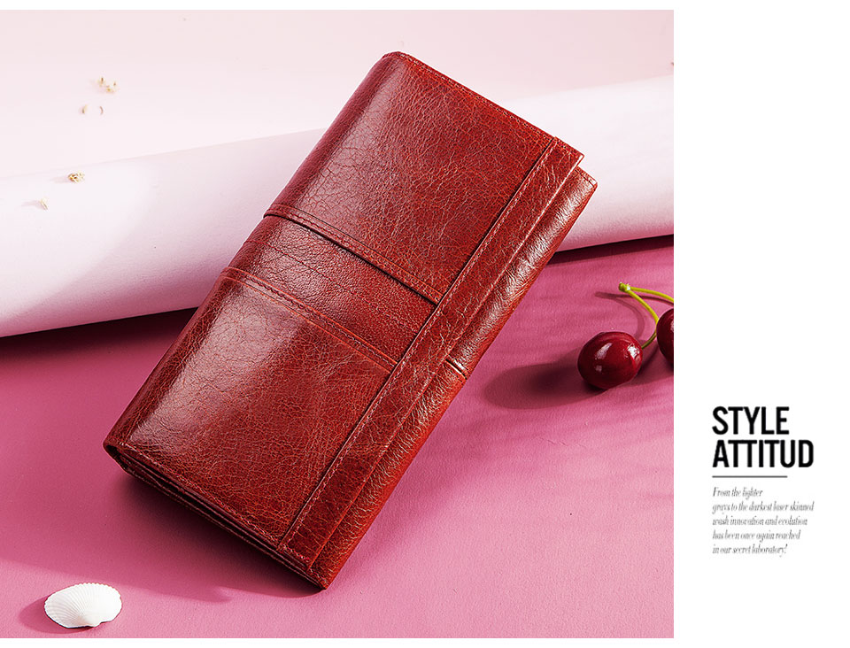 HTB1h5w7KQvoK1RjSZFDq6xY3pXaA - GZCZ RFID Leather Women Clutch Wallet Fashion Long Style Female Coin Purse Portomonee Clamp For Phone Bag Ladies Handy Purse
