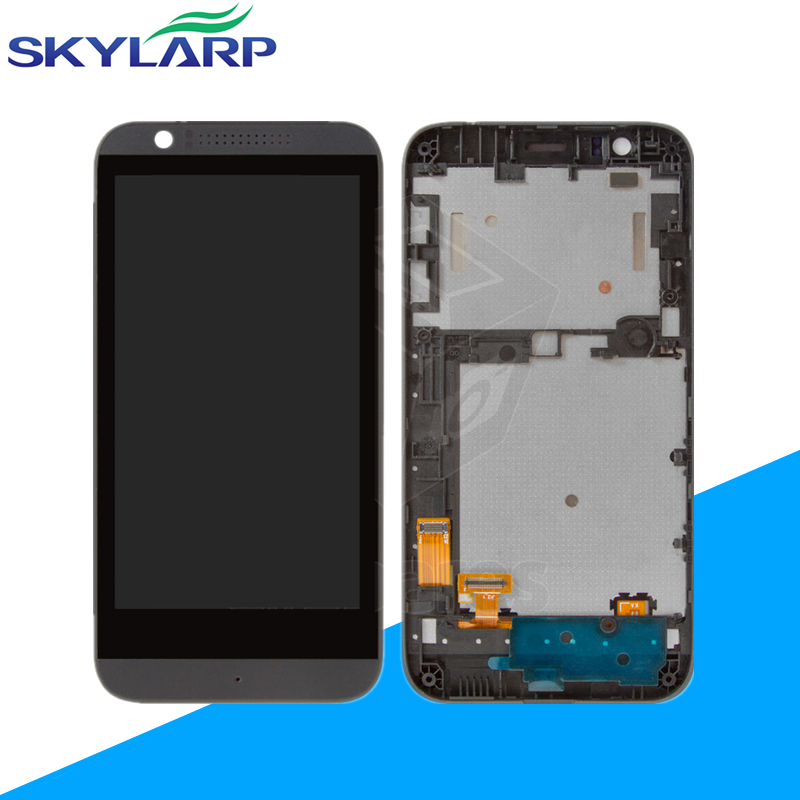 ФОТО LCD+Touchscreen for HTC desire 510 (with front panel) Full LCD Display+touch screen+free shipping
