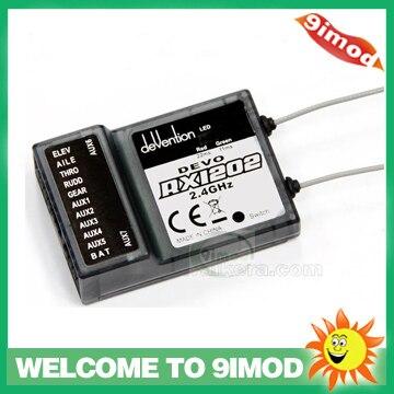 ФОТО Walkera RX1202 2.4G 12CH Receiver Suitable For Walkera DEVO  6S / 7 / 8S / 10 / 12S Transmitter