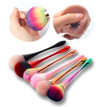 1Pcs Colorful Mullti-function Makeup Powder Foundation Eyeshadow Brushes Beauty Tool Professional Soft Nail Dust Cleaning Brush