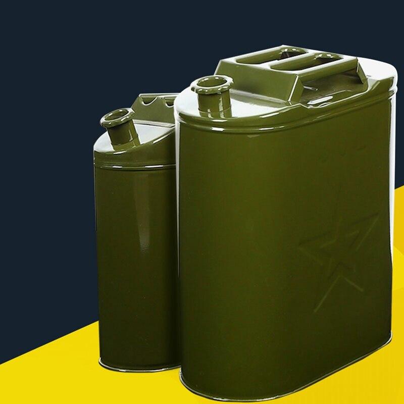 10L 20L 25L 30L Gasoline Fuel Tank Can Large Capacity Oil Drum Portable Petrol Barrel Car SUV Motorcycle