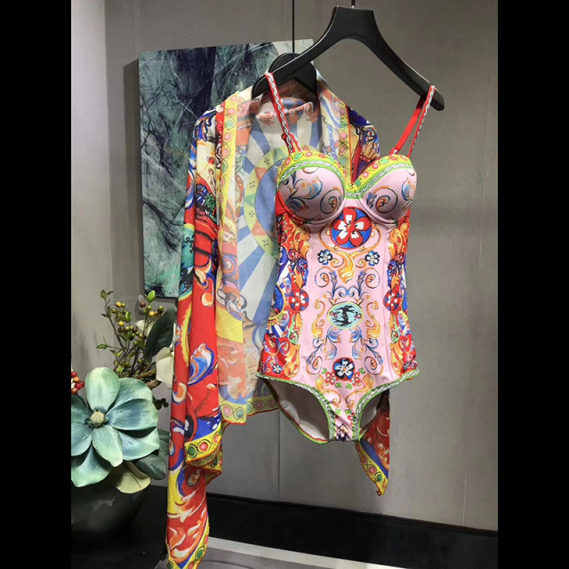 Summer Women Clothing Playsuit Sexy Floral Print Bohemian Beach Skinny Bodysuits