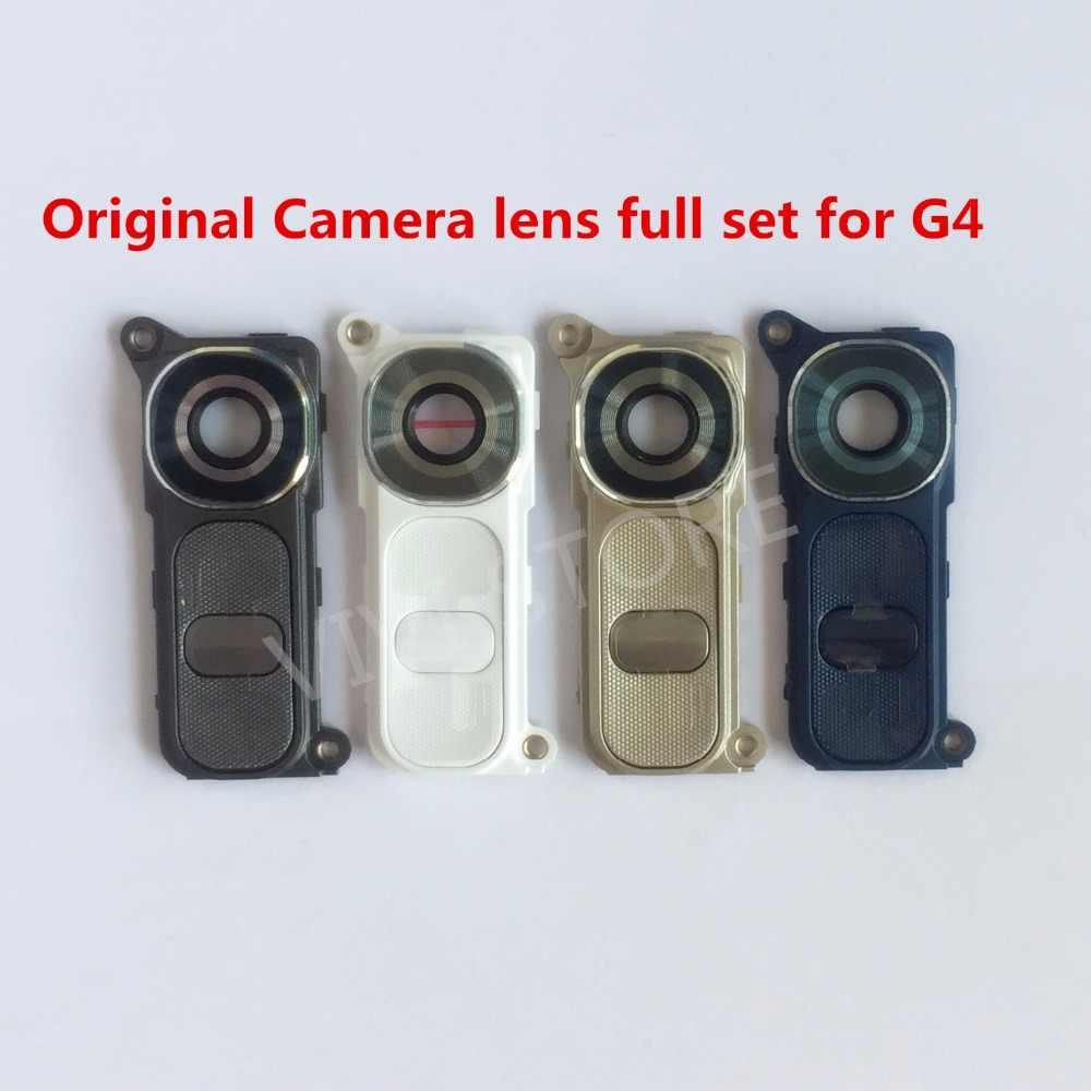 All Version G4 Original New Back Rear Camera Lens glass + Frame + Power  Volume Button 5bc7c3a14412