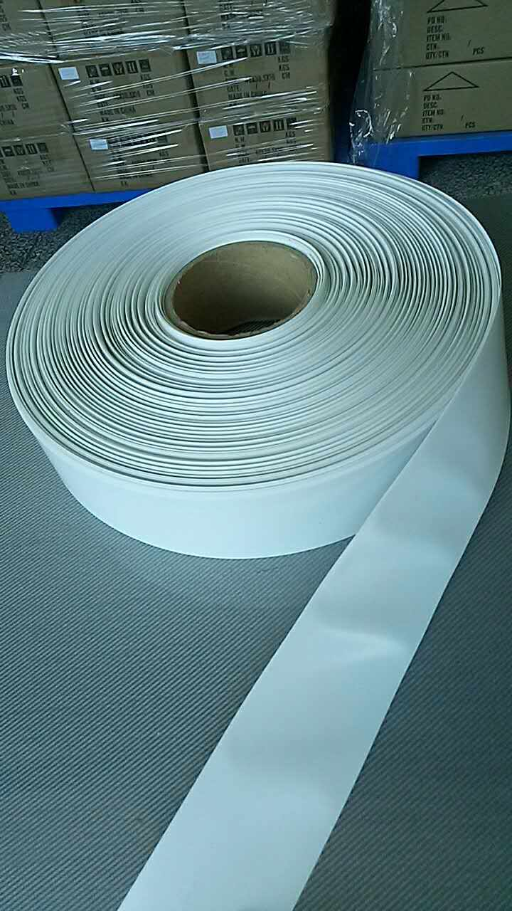 XNEMON 1m PVC Heat Shrink Tubing 18650 Battery Wrap White 52/54/60/70/80/110/165mm Wide For Lipo Battery Film Tape image