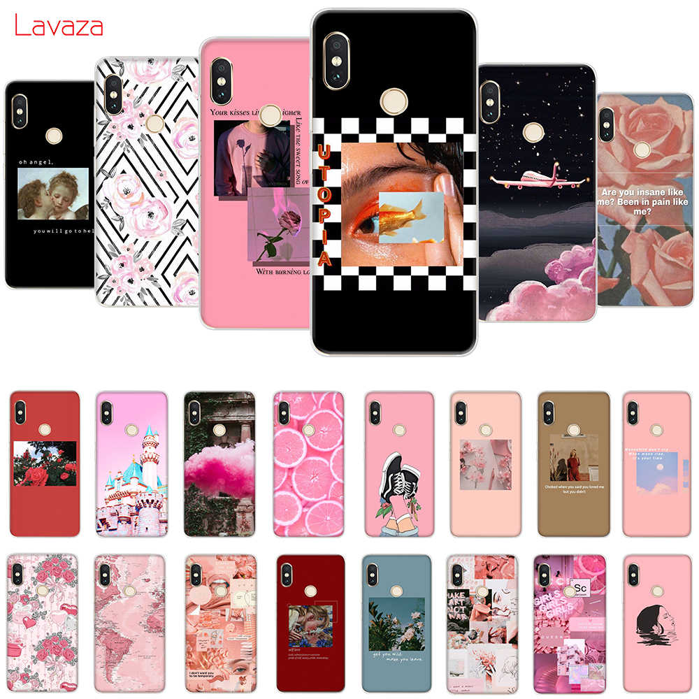 Lavaza Pink Aesthetics  Aesthetic Hard Case for Huawei Mate 10 20 P10 P20 Lite Pro P smart 2019 for Honor 8X 8C Cover