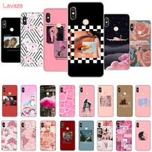 Lavaza Pink Aesthetics  Aesthetic Hard Case for Huawei Mate 10 20 P10 P20 Lite Pro P smart 2019 Honor 8X 8C Cover