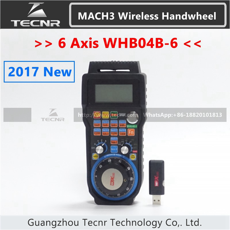 XHC 6 Axis MACH3 Wireless Handwheel CNC MPG Handwheel Manual USB Receiver 40 meters transmission distance WHB04B 2017 new dental floss oral care implement water flosser irrigation water jet dental irrigator flosser tooth cleaner