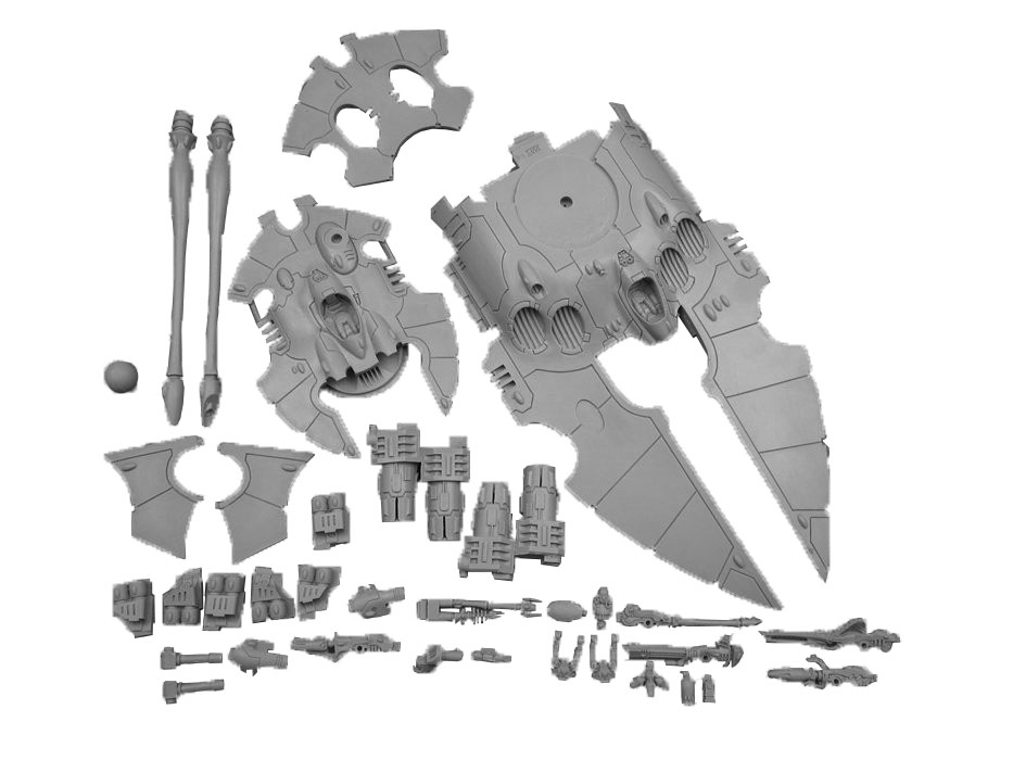 ELDAR SCORPION TYPE II SUPER HEAVY GRAV TANK F657