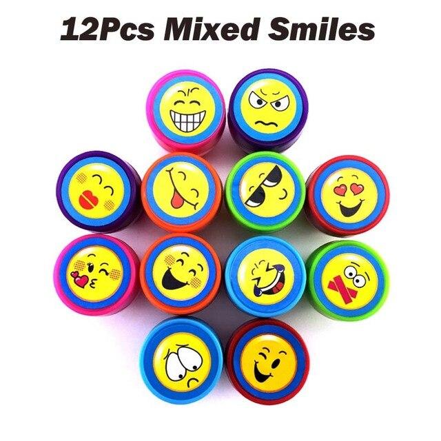 12Pcs Mixed Smiles