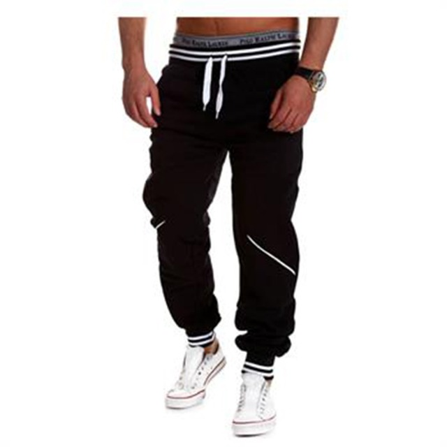 Lisli Mens Casual Jogger Rock Men's Harem Baggy Hip Hop Fashion Brand 2016 Sweat Pants Male Trousers Spring Autumn 01c0118